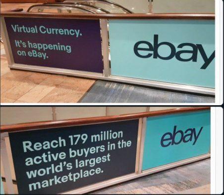 Ebay pode vir a aceitar cryptos como forma de pagamento